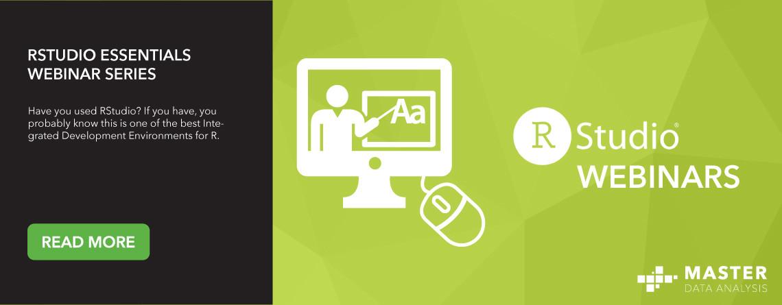 RStudio Essentials Webinar Series