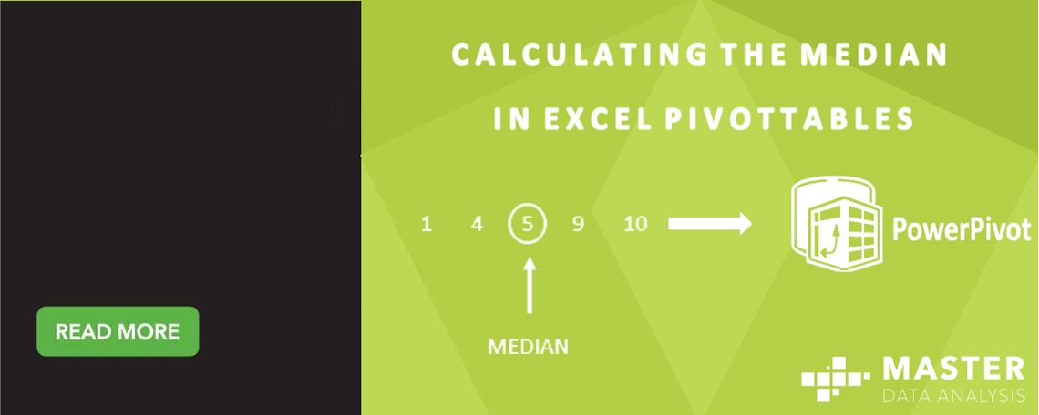 Calculating the median in Excel PivotTables - Master Data Analysis